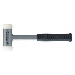 Halder - 3377030 - Dead Blow Hammer, 20 oz. Head Weight, Rubber over Steel Handle Material