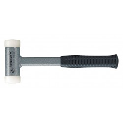 Halder - 3377050 - Dead Blow Hammer, 42 oz. Head Weight, Rubber over Steel Handle Material