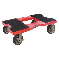 Snap-Loc - SL1500D6R - 32L x 20-1/2W x 9H Red General Purpose Dolly, 1500 lb. Load Capacity