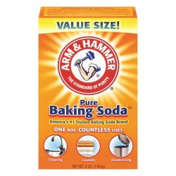 Arm & Hammer - 33200-01170 - Odorless Baking Soda, 4 lb., 6PK