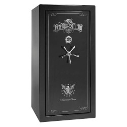 Liberty Safe - AS25-BKG-C - Gun Safe, 735 lb. Net Weight, 1-1/2 hr. Fire Rating, Combination/Key Lock Style