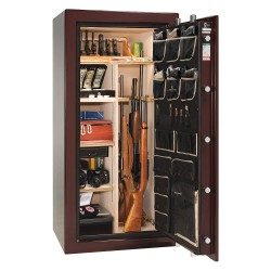 Liberty Safe - AS25-BUG - Gun Safe, 735 lb. Net Weight, 1-1/2 hr. Fire Rating, Combination/Key Lock Style