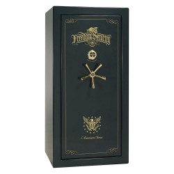 Liberty Safe - AS25-GNG - Gun Safe, 735 lb. Net Weight, 1-1/2 hr. Fire Rating, Combination/Key Lock Style