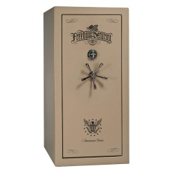 Liberty Safe - AS25-CPM - Gun Safe, 735 lb. Net Weight, 1-1/2 hr. Fire Rating, Combination/Key Lock Style
