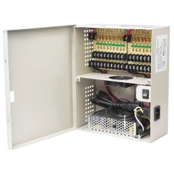LTS - DV-AT1212A-D18P - Power Supply, Wall Mount, 18 Channel, 8inW