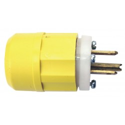 Leviton - 5266-CY - Leviton Straight Blade Wiring Devices Where To Buy Find a Store - NEMA 5-15P - 125 V AC / 15 A