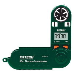Extech Instruments - 45168CP - Extech 45168CP Mini Thermo-Anemometer with Built-in Compass