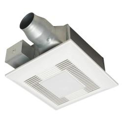 Panasonic fv 08 11vfl5 10 1 4 x 10 1 4 x 5 5 8 low profile bathroom ventilation fan 80 for Low profile bathroom exhaust fan