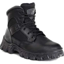 Rocky Shoes & Boots - 6167 5.5 M - 6H Men's Work Boots, Composite Toe Type, Black, Size 5-1/2M