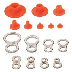 Proto - JPCLSMPLKIT - Tether Kit, Nylon, Fits Shaft Dia. 0.035 to 1