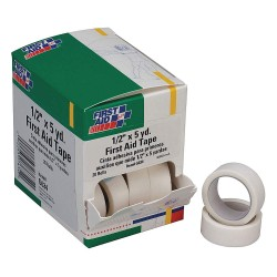 First Aid Only - G634GR - First Aid Tape, White, 1/2 in. W, 5 in. L