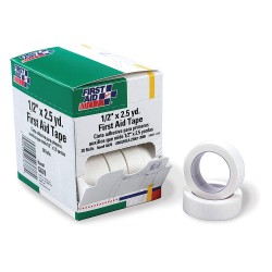 First Aid Only - G678GR - First Aid Tape, Wht, 1/2inW, 2-1/2yd., PK20