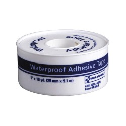 First Aid Only - M688-PGR - Waterproof Tape, White, WP1 in W, 10 in. L
