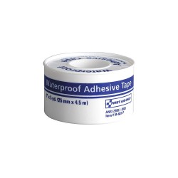 First Aid Only - M687-P-GR - Waterproof Tape, White, WP1 in. W, 5 in. L