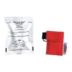 First Aid Only - M5092-GR - CPR Faceshield with Oneway Valve, 2 in. L