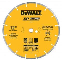 Dewalt - DW4741S - 5 Dry Diamond Saw Blade, Segmented Rim Type, Application: Masonry