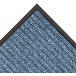 Notrax - 109S0023BU - Blue Needle-Punched Yarn, Entrance Mat, 2 ft. Width, 3 ft. Length