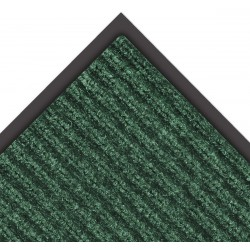 Notrax - 109S0023GN - Hunter Green Needle-Punched Yarn, Entrance Mat, 2 ft. Width, 3 ft. Length