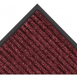 Notrax - 109S0023RB - Red/Black Needle-Punched Yarn, Entrance Mat, 2 ft. Width, 3 ft. Length