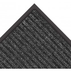 Notrax - 109S0035CH - Charcoal Needle-Punched Yarn, Entrance Mat, 3 ft. Width, 5 ft. Length