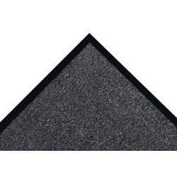 Notrax - 130S0034CH - Charcoal Decalon® Fiber, Entrance Mat, 3 ft. Width, 4 ft. Length