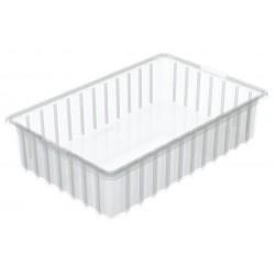 Akro-Mils / Myers Industries - 33164SCLAR - Divider Box, Clear, 4H x 16-1/2L x 10-7/8W, 1EA