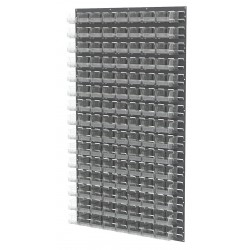 Akro-Mils / Myers Industries - 30161210SC - 36 x 4-5/8 x 61 Louvered Panel with 1000 lb. Load Capacity, Gray