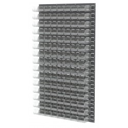 Akro-Mils / Myers Industries - 30161220SC - 36 x 4-5/8 x 61 Louvered Panel with 1000 lb. Load Capacity, Gray