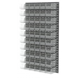 Akro-Mils / Myers Industries - 30161230SC - 36 x 6 x 61 Louvered Panel with 1000 lb. Load Capacity, Gray
