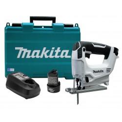 Makita - VJ01W - Makita VJ01W 12V MAX Lithium-Ion Cordless Jig Saw Kit w/ -2 Batteries & Hard Case