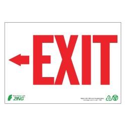 Zing Enterprises - 1082G - Exit and Entrance, Plastic, 7 x 10, Surface