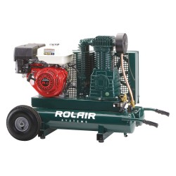 Rolair - 8422HBK119-0001 - 9 gal. 9.0 HP Wheelbarrow Portable Gas Air Compressor