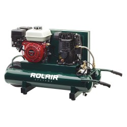 Rolair - 4090HMK113-0001 - 9 gal. 5.5 HP Wheelbarrow Portable Gas Air Compressor