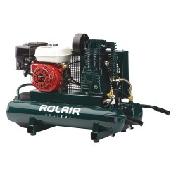 Rolair - 6590HMK113-0001 - 9 gal. 6.5 HP Wheelbarrow Portable Gas Air Compressor