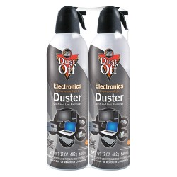 Dust-Off - DPSJMB2 - Aerosol Duster, 17 oz., PK2