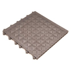 Ergo Advantage - A1-GRY R - Interlocking Antifatigue Mat, Vinyl, Gray, 1 ft. 6 x 1 ft. 6, 10 PK