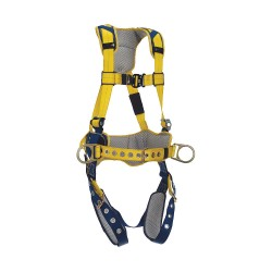 DBI / Sala - 1100795 - Delta Full Body Harness with 420 lb. Weight Capacity, Yellow, S