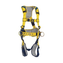 DBI / Sala - 1100786 - Delta Full Body Harness with 420 lb. Weight Capacity, Yellow, M
