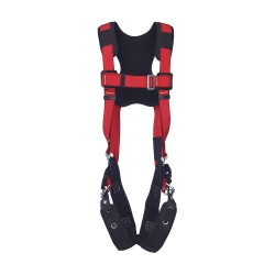 Protecta - 1191431 - PRO Full Body Harness with 420 lb. Weight Capacity, Red, XL