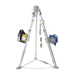 DBI / Sala - 8301041 - Confined Space Entry System, 7ft H, 60ft L