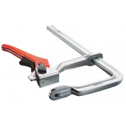 Bessey Tools - 1800L-12 - Bessey 12 L Style Drop Forged Steel Heavy Duty Rapid-Action Lever Clamp With Offset Handle Lever Clamp, ( Each )