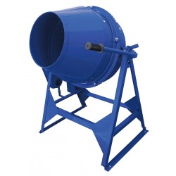 Marshalltown Trowel - MIX59015C - Concrete Mixer, 3 cu ft, Steel, Blue