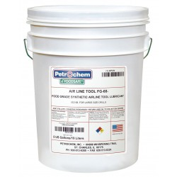 Petrochem - FOODSAFE AIRLINE TOOL FG-68-005 - Air Tool Lubricant, 5 gal. Container Size