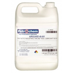 Petrochem - AIRGUARD 46-001 - Synthetic Air Line Tool Lubricant, 1 gal. Container Size