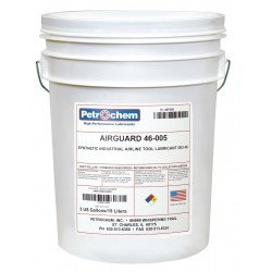 Petrochem - AIRGUARD 46-005 - Synthetic Air Line Tool Lubricant, 5 gal. Container Size