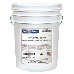 Petrochem - AIRGUARD 68-005 - Air Tool Oil, 5 gal. Container Size