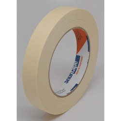 Shurtape - CP 083 - Masking Tape, 55m x 18mm, Natural, 5.00 mil, Package Quantity 48