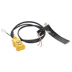Harrington Hoists - EP1BS155720 - Pendant, 2 Button, 16 ft. Cable Drop