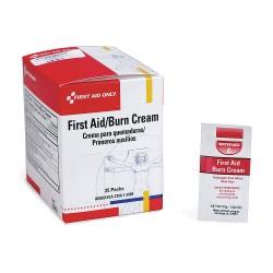 First Aid Only - G343GR - Burn Cream, 0.9g Box