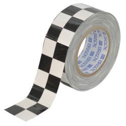 Brady - 121913 - Brady 2 X 100' Black/White Polyester ToughStripe Floor Marking Tape, ( Roll )